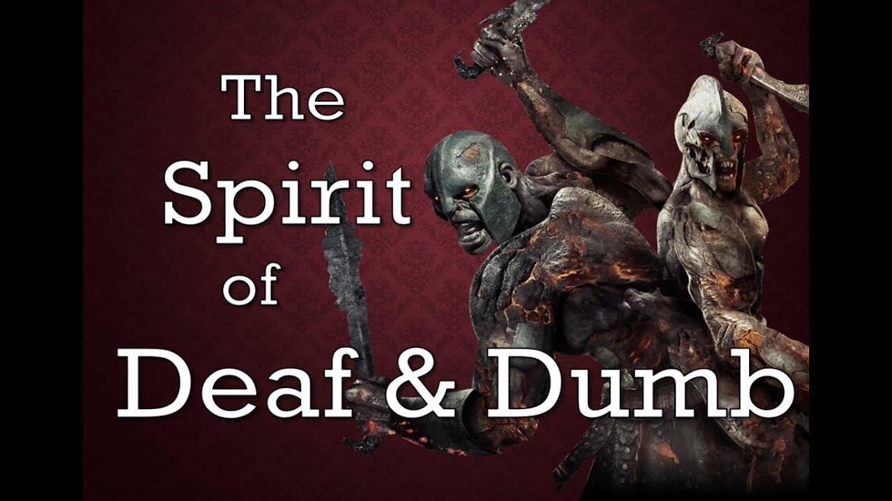 Image result for Deaf and dumb spirit