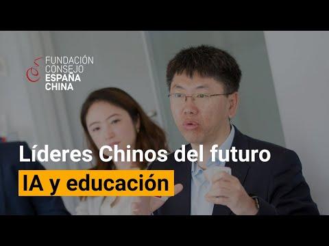 Diálogos con Líderes Chinos del Futuro - Richard Tong. Inteligencia artificial y educación.