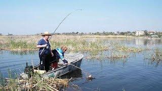 Клевое место. Рыбалка в дельте Днепра