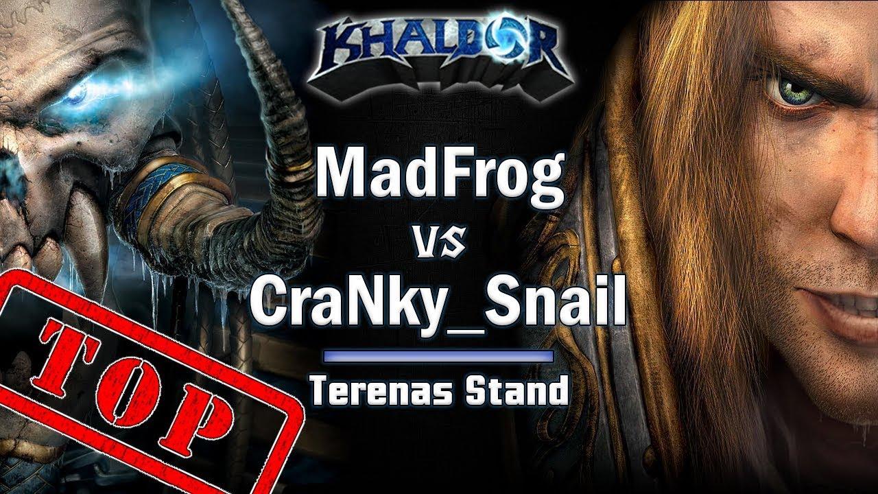 ► WarCraft 3 Top match - MadFrog (UD) vs. CraNky_SnaiL (Hu)