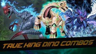 True King Dinosaur Combos - 2019!