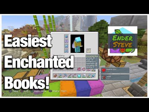 Minecraft: PlayStation®4 - Afk Fish Farm Tutorial (GET EVERY ENCHANTMENT!) Survival Friendly thumbnail