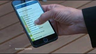 Mobile Qualitätskontrolle der Berliner Badestellen / Nahaufnahme