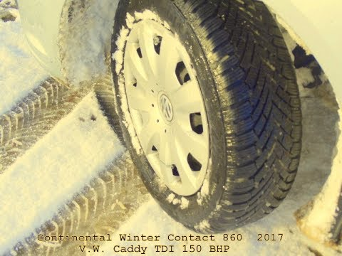 Winter Tyre Test, Mountain Track .