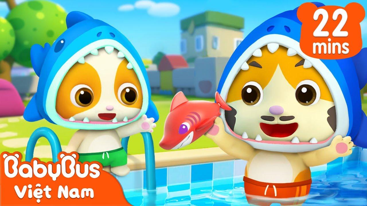 Baby Shark | Gia đình cá mập vui vẻ | Nhạc thiếu nhi vui nhộn | BabyBus