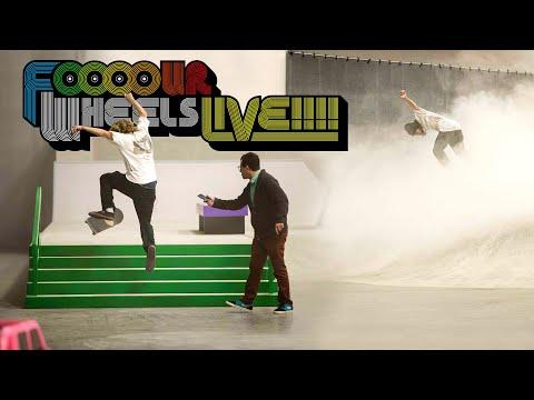 Torey Pudwill vs Wes Kremer | FOOOOUR WHEELS LIVE!