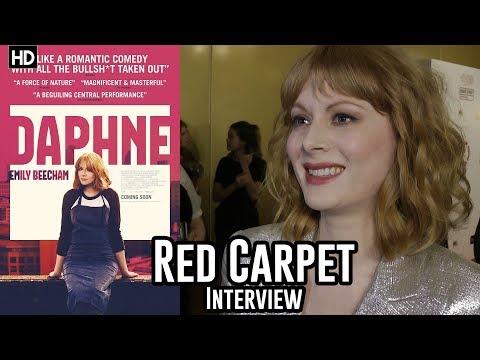 Emily Beecham - Daphne - Critics Circle Awards 2018 Red Carpet Interview