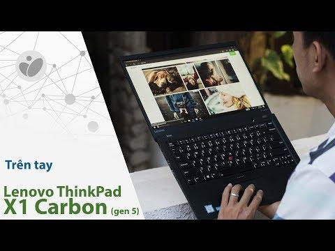 Trên tay Lenovo ThinkPad X1 Carbon gen 5 với bàn phím chống tràn nước | Tinhte.vn
