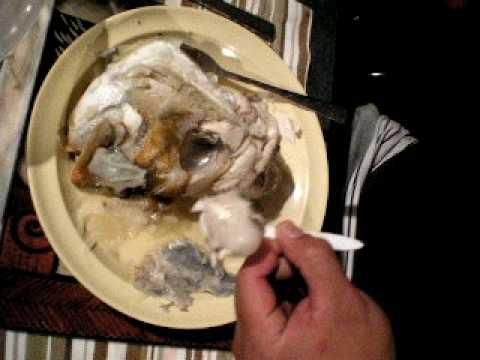 MAORI FISH HEAD EATER part...1