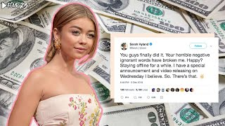 Sarah Hyland BEGS For GoFundMe Donations & Gets Driven Off Social Media