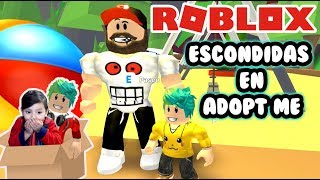 Hidden in Adopt Me I'm hiding from Papa Adopt me Roleplay Roblox