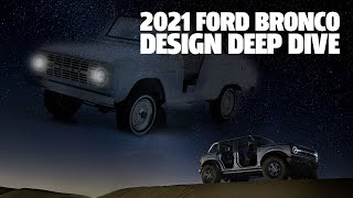 homepage tile video photo for Let's Take A Deeper Look At The Design Of The New 2021 Ford Bronco
