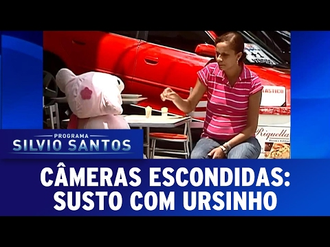 Susto com Ursinho | Câmeras Escondidas (05/02/17)
