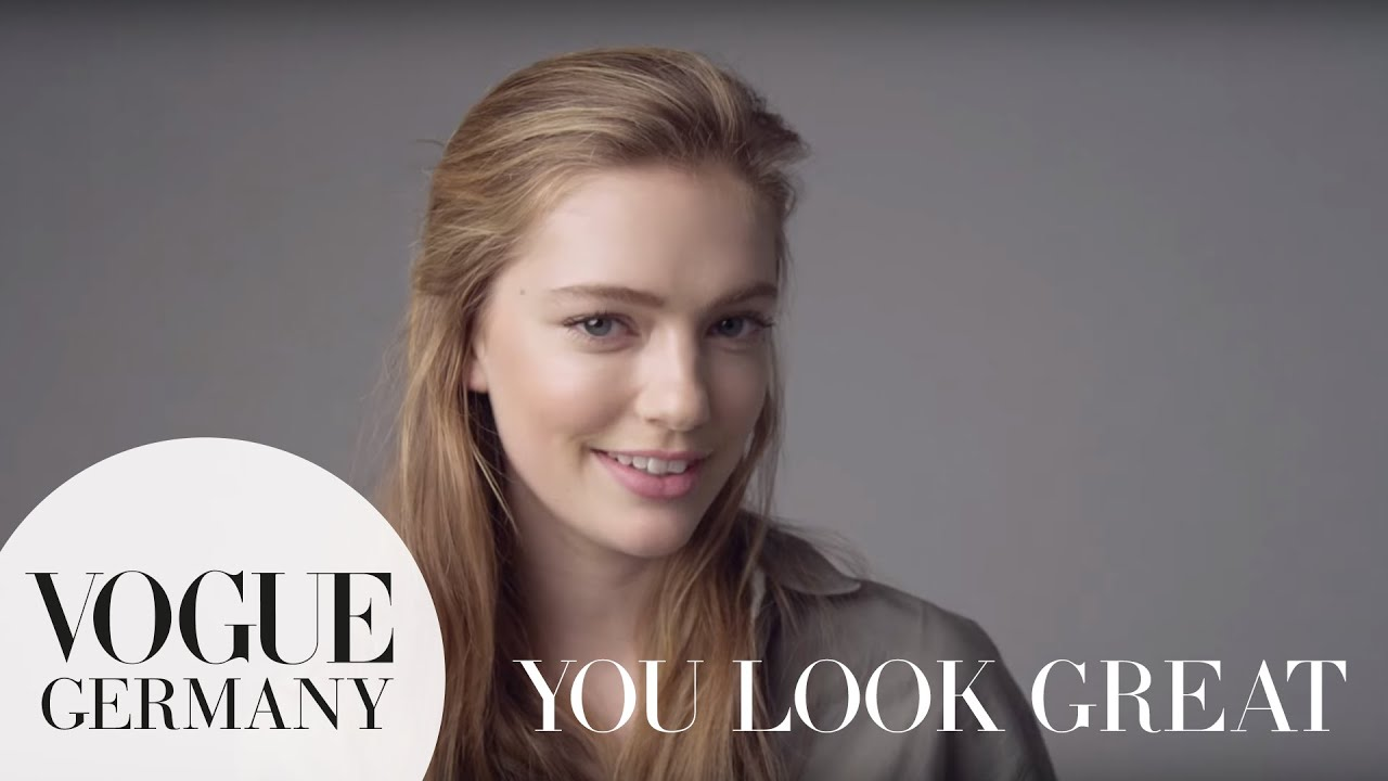 You look fantastic! – A Message for you by Emmy Rappe for VOGUE