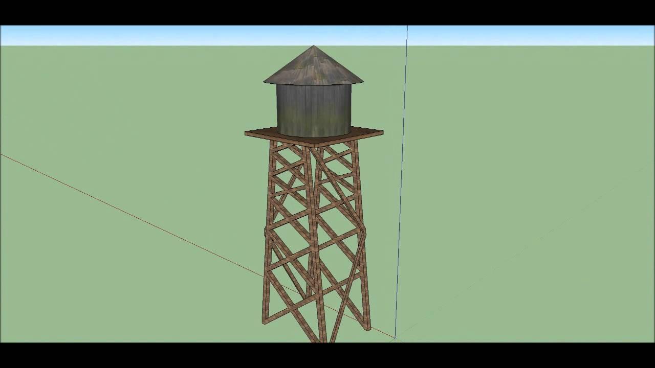 Torre de agua youtube for Imagenes de estanques caseros