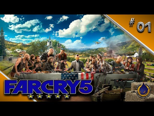 GOTTES WILLE 🔫 Let's Play FAR CRY 5 #001