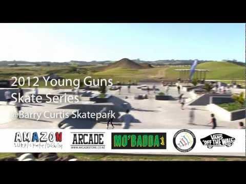 2012 Young Guns Skate series - barry curtis park