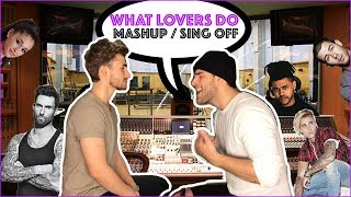 Maroon 5 - What Lovers Do COVER MASHUP (Kev & Nick)