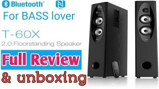 F&D T60X unboxing & review in hindi High bass .