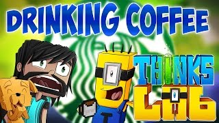 Minecraft Mods : Think's Lab - New Coffee Machine! [Minecraft Roleplay]