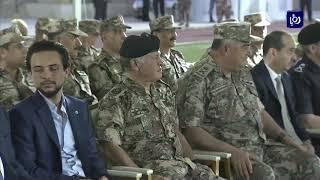 جلالة الملك يشارك مأدبة الافطار مع القوات المسلحة - (22-5-2018)