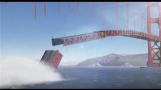 Golden Gate Bridge Collapse Vfx