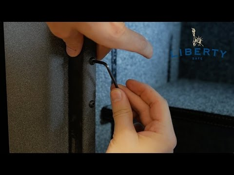 How to Adjust a Liberty Safe Door