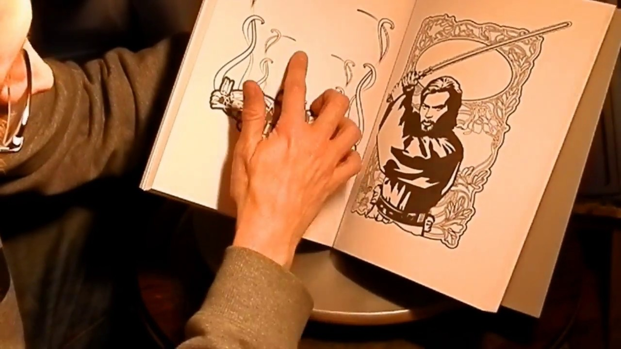 STAR WARS - 199 - MALBÜCHER (COLORING BOOKS) - YouTube