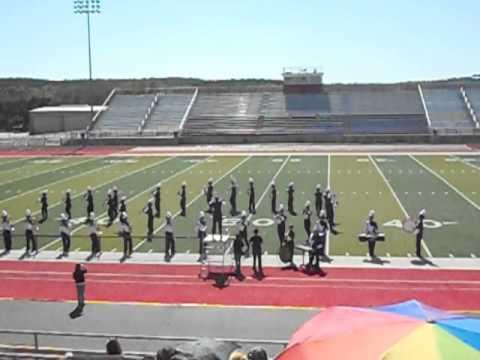 Ranger High School in Glen Rose TX Paluxy Valley Marching Festival Oct 15, 2011.AVI