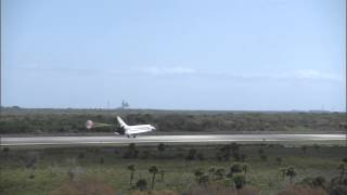STS-133 Discovery - Landing Replays - West side of Runway