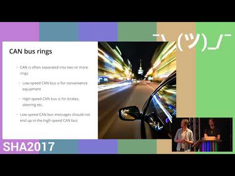 Car hacking: getting from A to B with Eve (SHA2017)