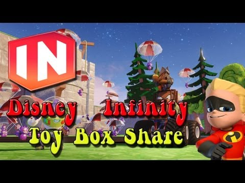 Disney Infinity: Toy Box Share - Sky Gauntlet