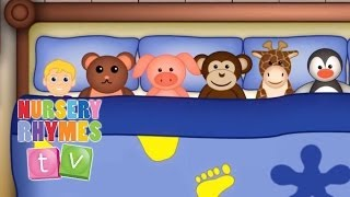 10 In The Bed | Nursery Rhymes Tv. Cute And Fun Baby Toddler Preschool Songs.