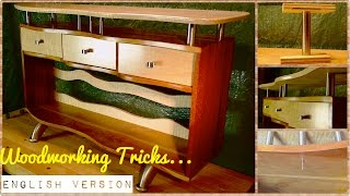 Woodworking Tricks. How To Include Metal Into The Furniture Design.