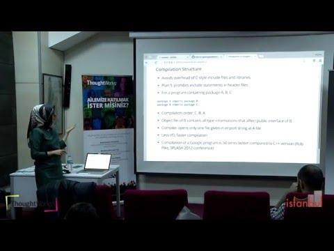 Introduction to Google's Golang // 4 Subat // Şeyma Çakmak