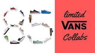 85 Limited Vans Shoe Collabs (Star Wars, Supreme, Nasa & More!)