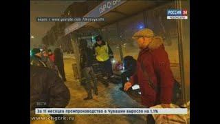 В Чебоксарах пьяный полицейский на светофоре сбил женщину с ребёнком
