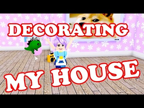 Roblox / DECORATING MY HOUSE!! / Meep City / GamingwithPawesomeTV