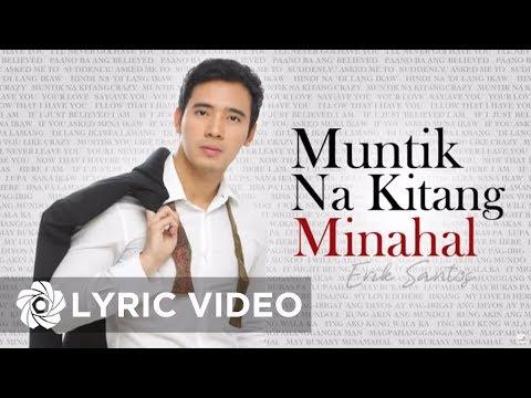 Erik Santos - Muntik Na Kitang Minahal (Lyrics) | Erik Santos Collection