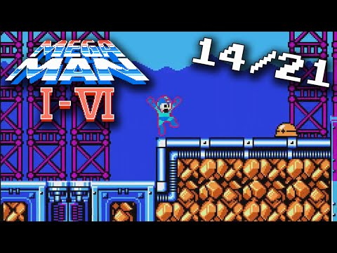 Mega Man I - VI -- (14/21) The All New Powerful Blast Sound