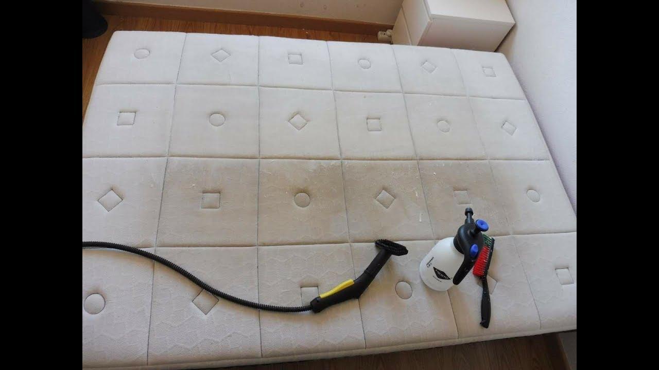 Como limpiar un colchon how to clean a mattress youtube for Como limpiar un colchon orinado
