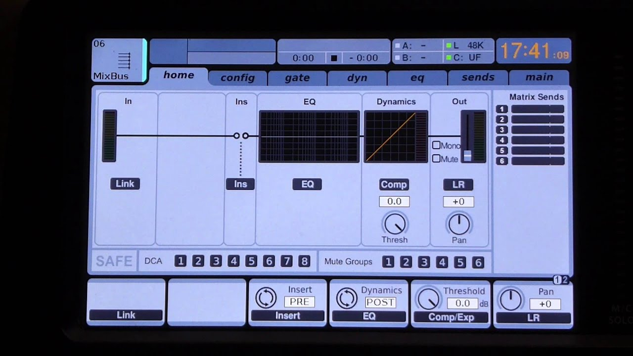 Behringer X32 SubGroup Routing to DAW/USB/FireWire outputs