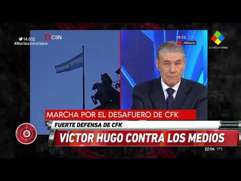 Víctor Hugo defendió a CFK: ¿Por qué mienten tanto?