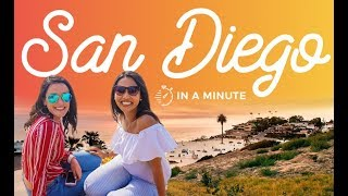 San Diego in a minute