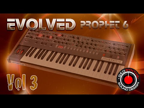 Evolved Vol 3 - Patches 26 to 50 - Sequential Prophet 6