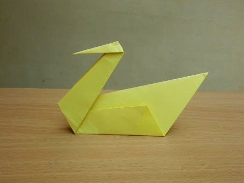 how to make a paper swan easy tutorials youtube