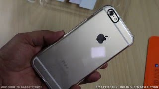 Spigen iPhone 6, 6S Case Thin Fit Crystal Clear Unboxing and Review