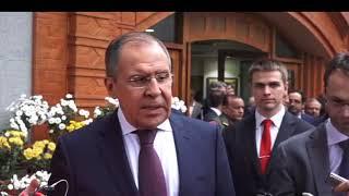 Ответы на вопросы СМИ С.Лаврова «на полях» встречи министров иностранных дел РИК
