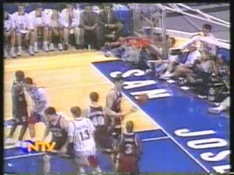 1997 NCAA Keith Van Horn playing for UTAH