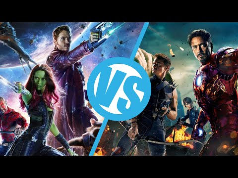 Guardians of the Galaxy VS The Avengers : Movie Feuds ep98 - YouTube